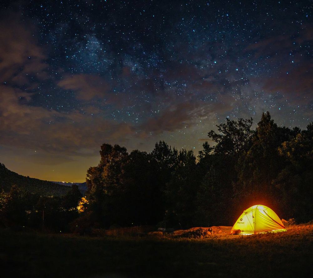 """A great many people, and more all the time, live their entire lives without ever once sleeping out under the stars.""- Alan S. Kesselheim,  Let Them Paddle: Coming of Age on the Water"