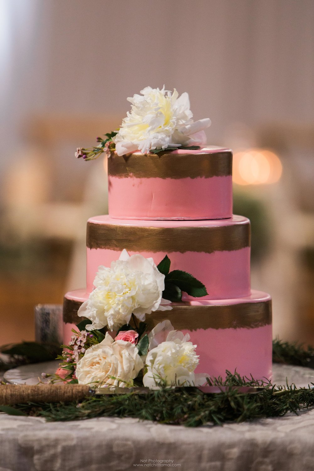 The wedding cake is from  Every Girl Gourmet .