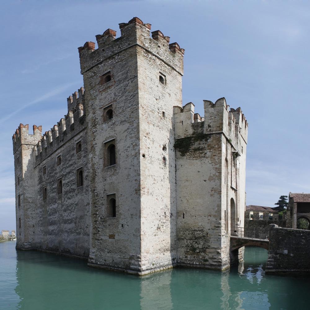 Die Burg von Sirmione