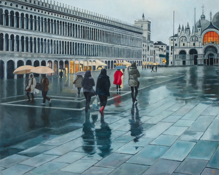 Evening in Piazza San Marco, 2015