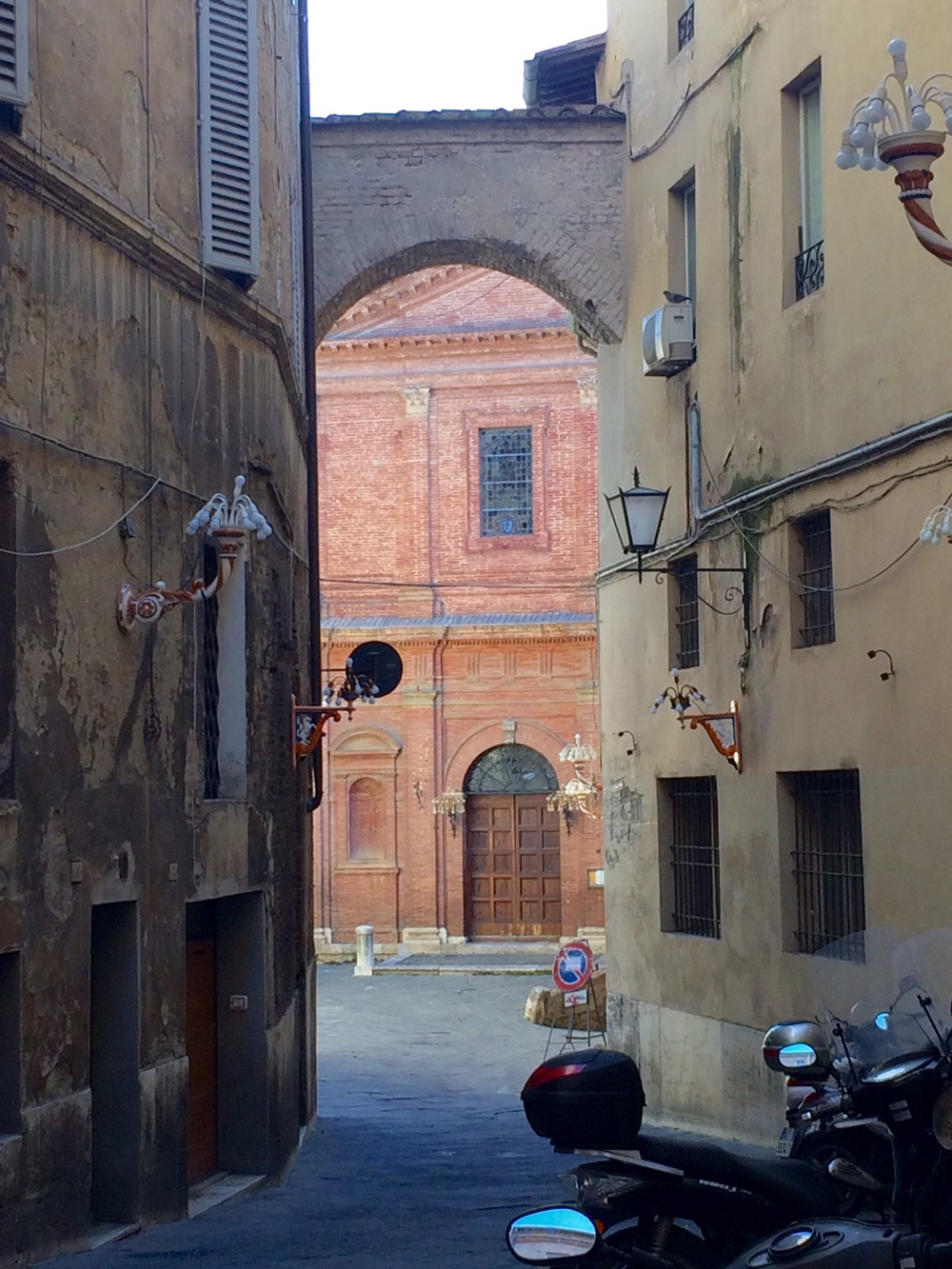 Italian charm oozes from the streets.