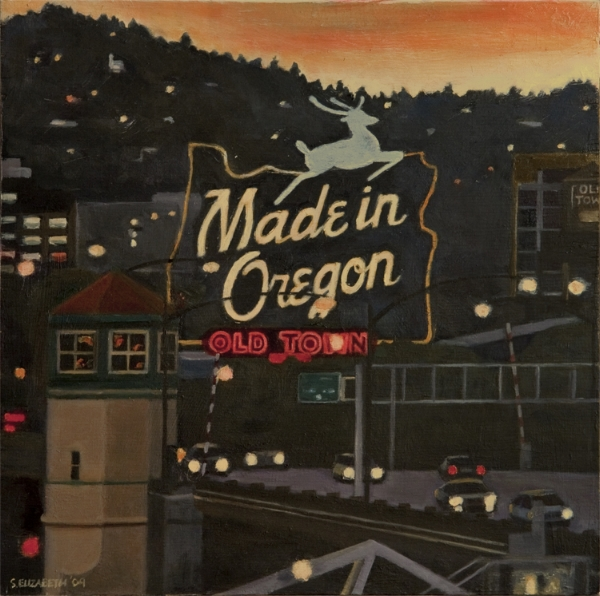Made in Oregon. Limited Edition print size is 9x9 inches.