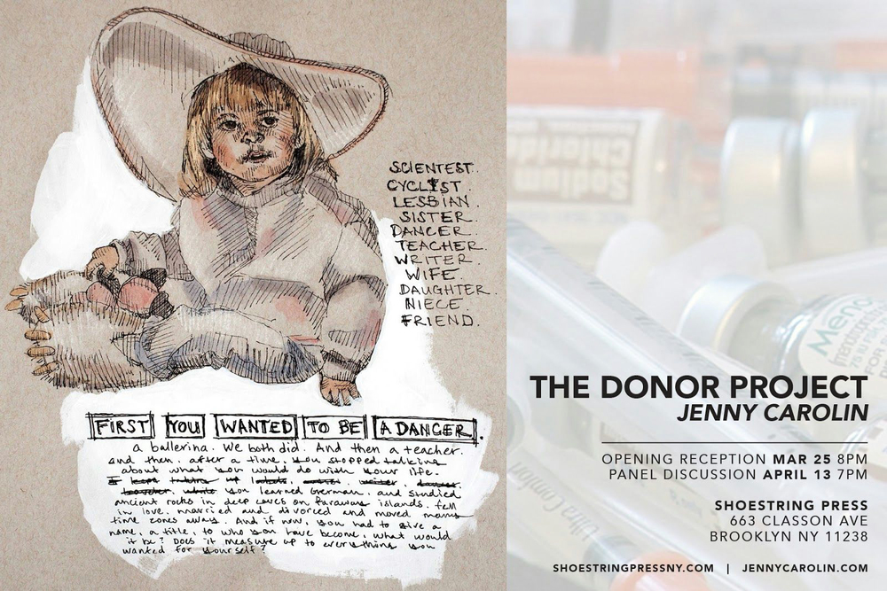 jenny carolin donor project flyer