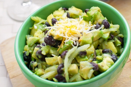 Avocado and Black Bean bowl