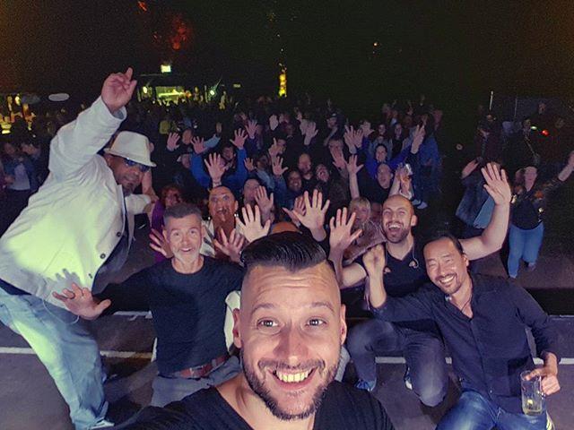 Danke Wetzlar! Was eine Show, was ein Publikum... Danke an CB Akustik für die Technik und an unseren Jan für's mischen... Wir hatten mal richtig Spaß! #superphonix #live #band #hr1band2013 #vocals #drums #bass #guitar #keys #sax #music #inear #stagediver4 #music #musiclife #wetzlar #brückenfest #cbakustik