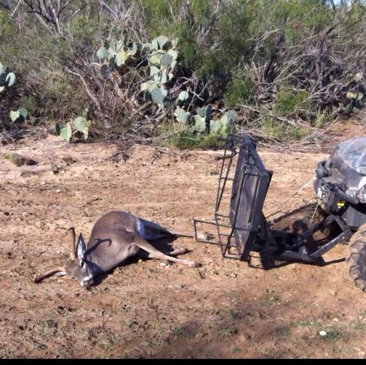 The Ox Rack is a front end deer loader.