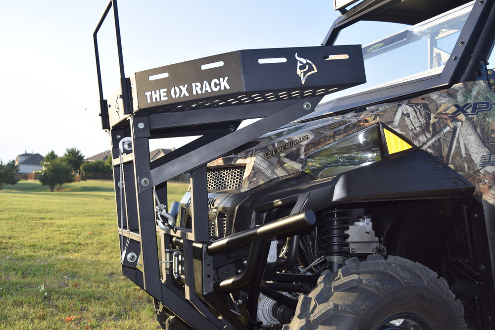 Get The Ox Rack custom fitted to your UTV.