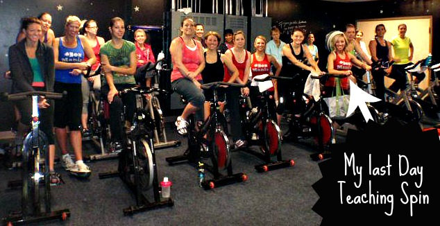 SHOUT OUT TO ALL OF THE AMAZING LADIES WHO CAME TO MY OLD SPIN CLASSES AND MADE THEM #AWESOME! I WILL NEVER FORGET YOU GUYS!