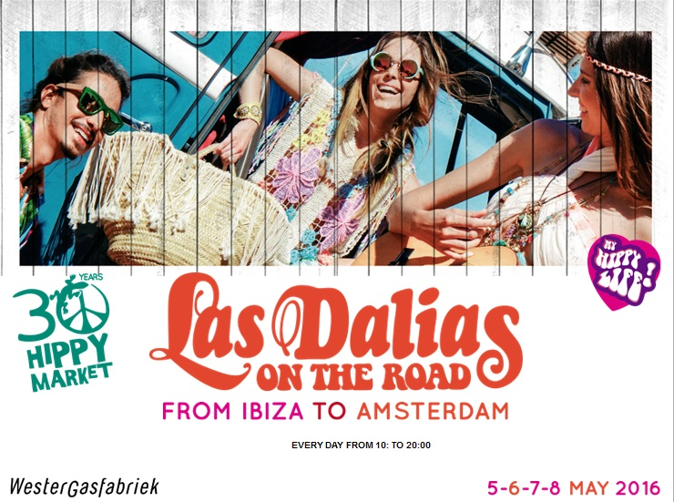 LAST VIDEOS & PICS! STAY TUNNED!! LAS DALIAS ON THE ROAD - AMSTERDAM 2016