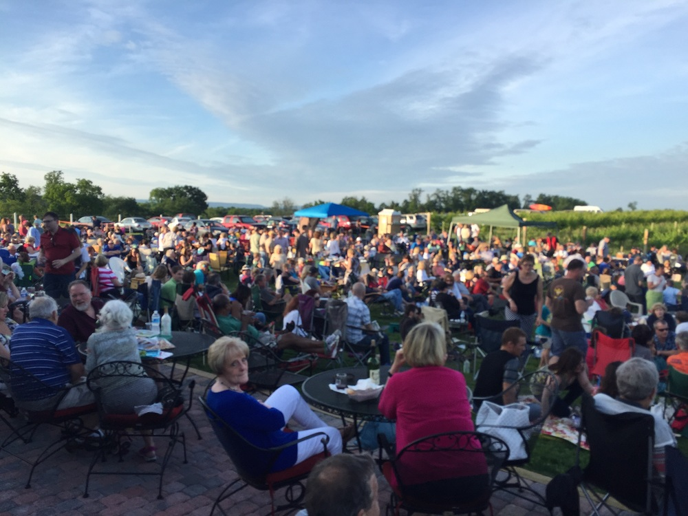 Music in the Vines at Cassel Vineyards