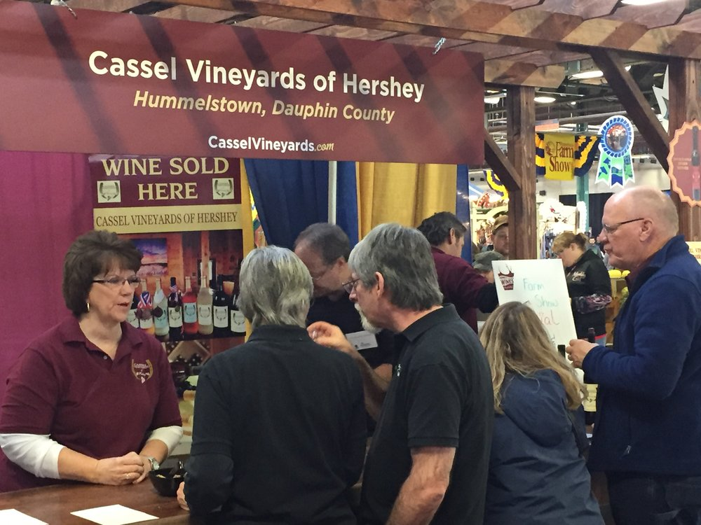 Wine sales were brisk from 9-9:00 on Fri. and 11-9:00 on Sun.