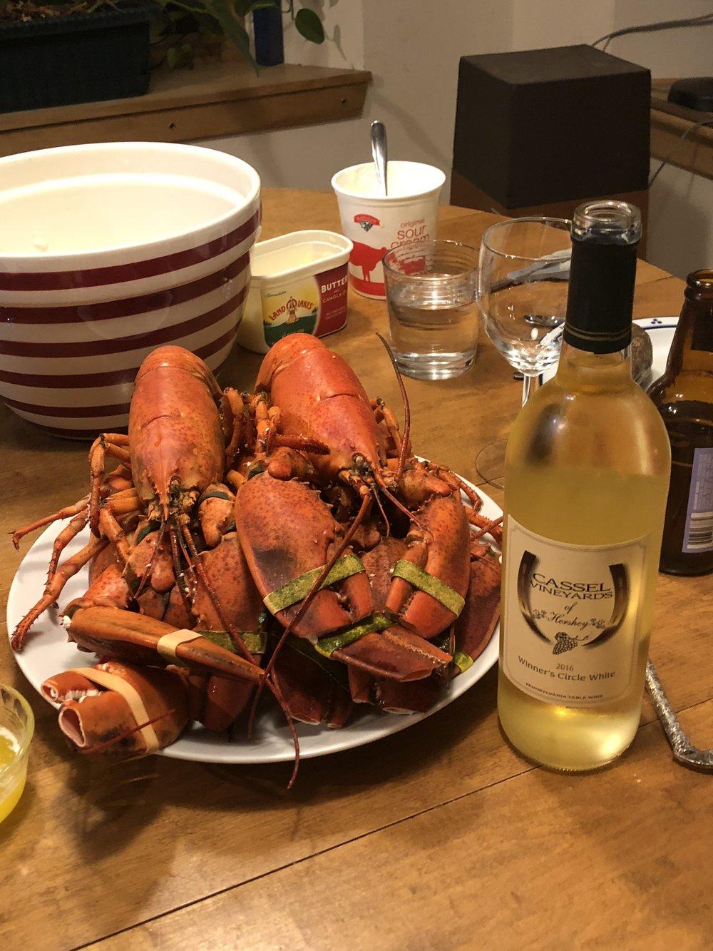 Maine Easter Dinner 2018