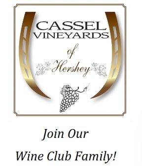 Only 50 Exclusive Memberships!      Join our family through the Cassel Vineyard Wine Club. Pick up 4 customized wine club orders and exclusive releases of new wines at our wine club pick-up events! Exclusive opportunities and excellent wines only for our Family of Wine Club Members!        Sign Up HERE       Questions? Click      HERE      for Wine Club FAQ's