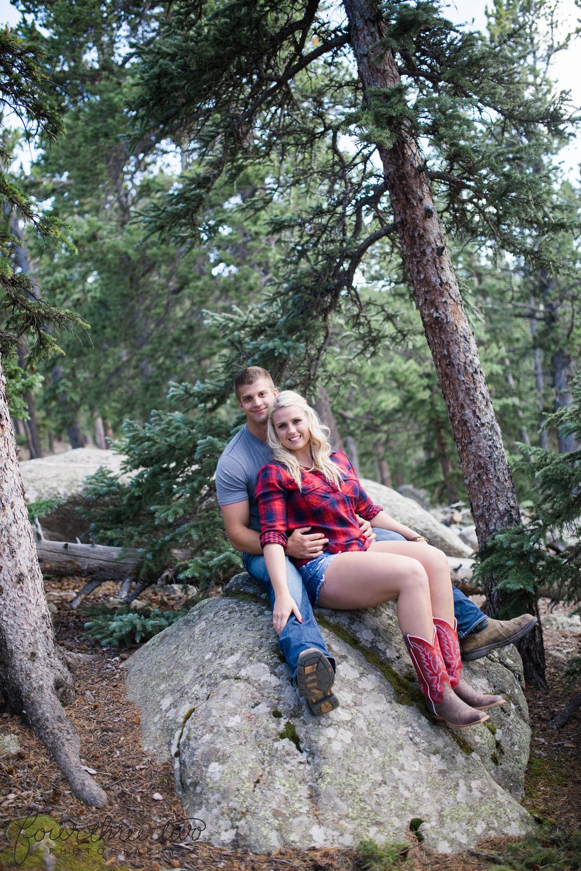 Colorado Mountain Wedding Photographer - Mt Evans Engagement