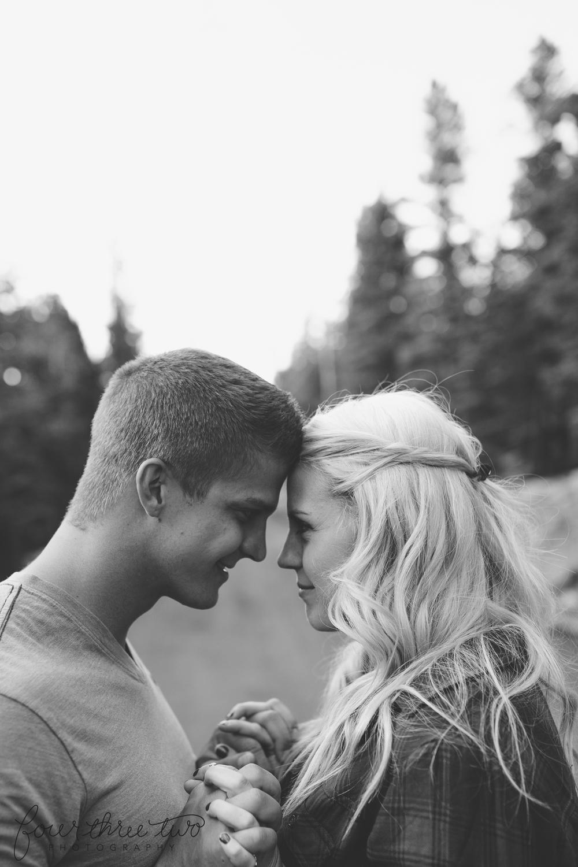 Colorado Mountain Wedding Photographer - Mountain Engagement Ideas