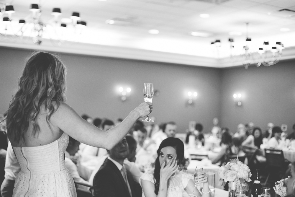 thoughtful maid of honor speech