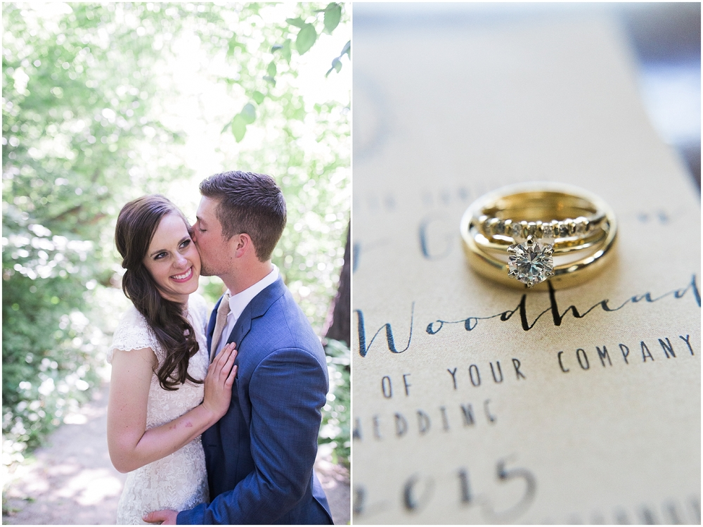 beautiful wedding details in Colorado