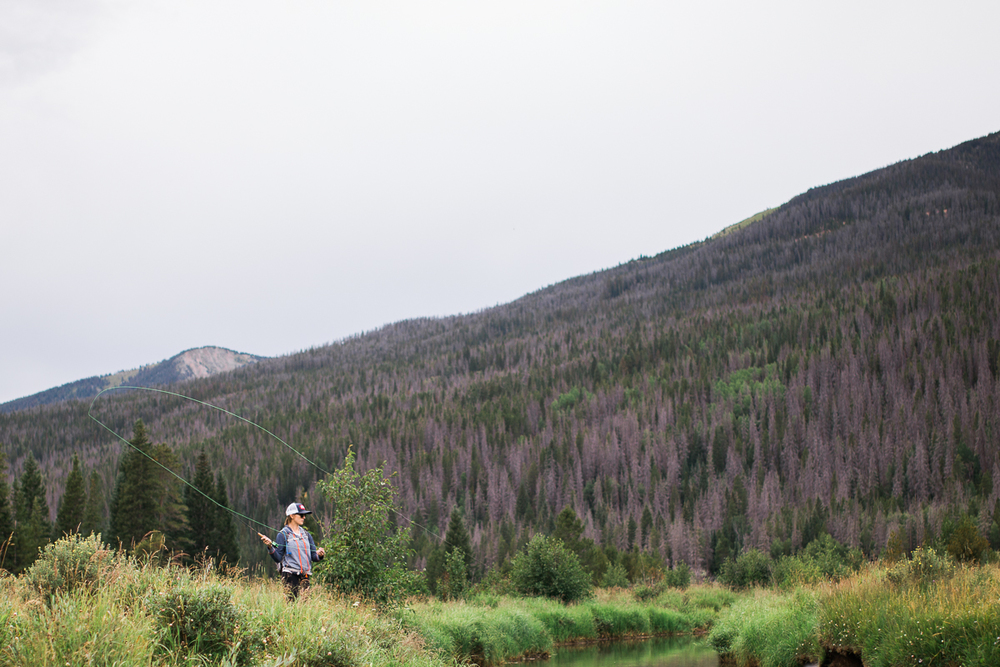 colorado outdoor photographer fly fishing