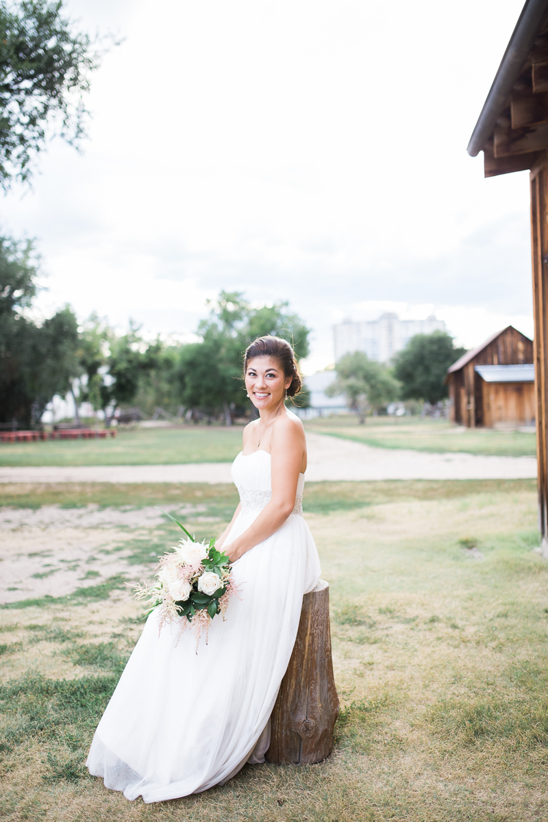colorado wedding at four mile historic park