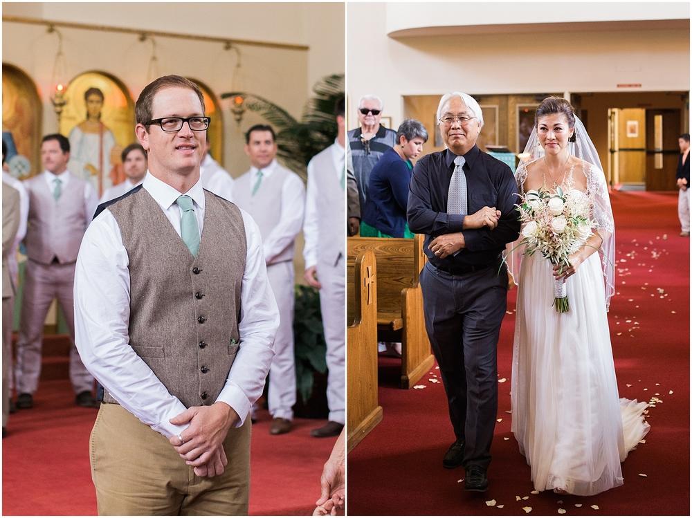 Colorado church wedding photographer