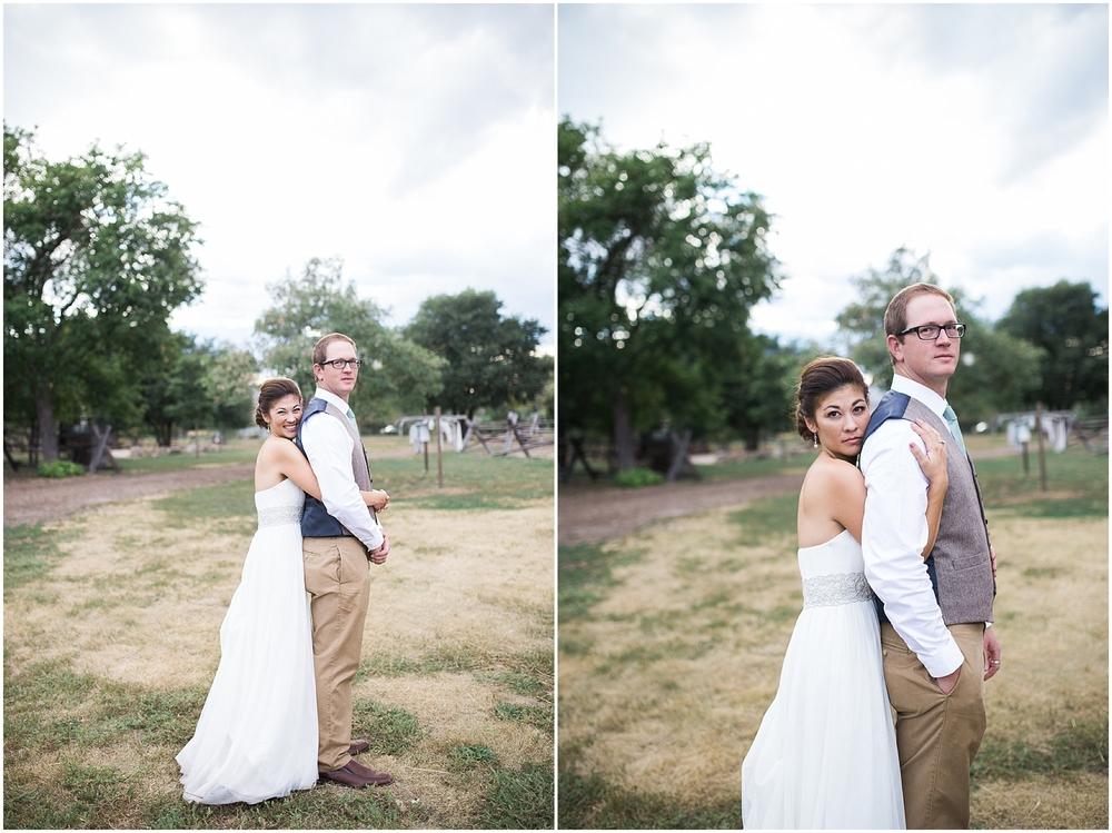 colorado outdoors wedding