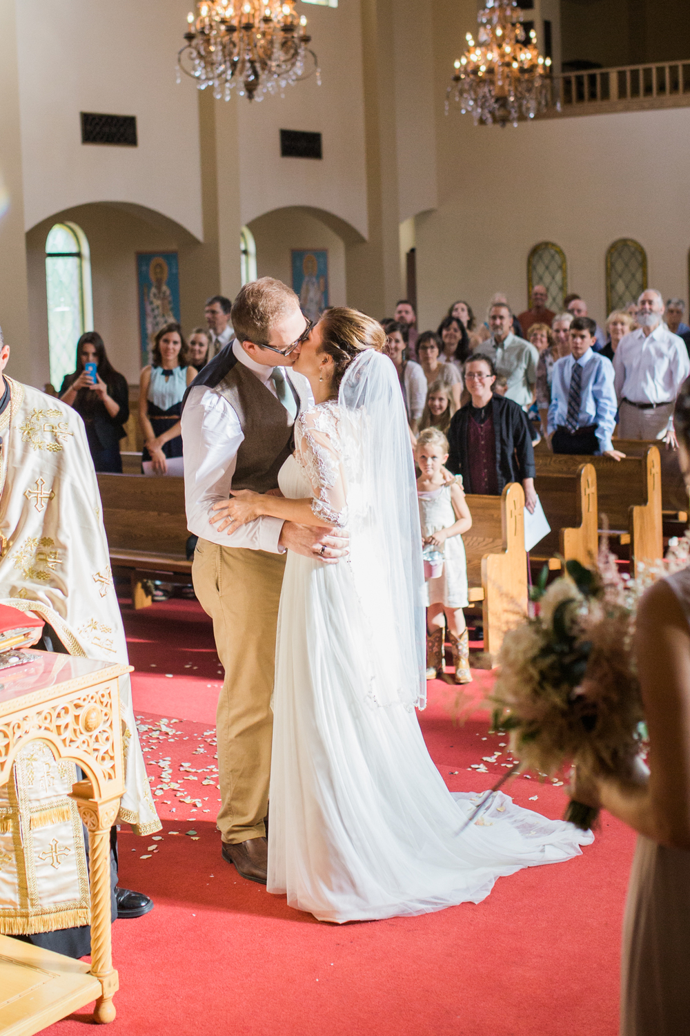Colorado St Catherine's Church Wedding