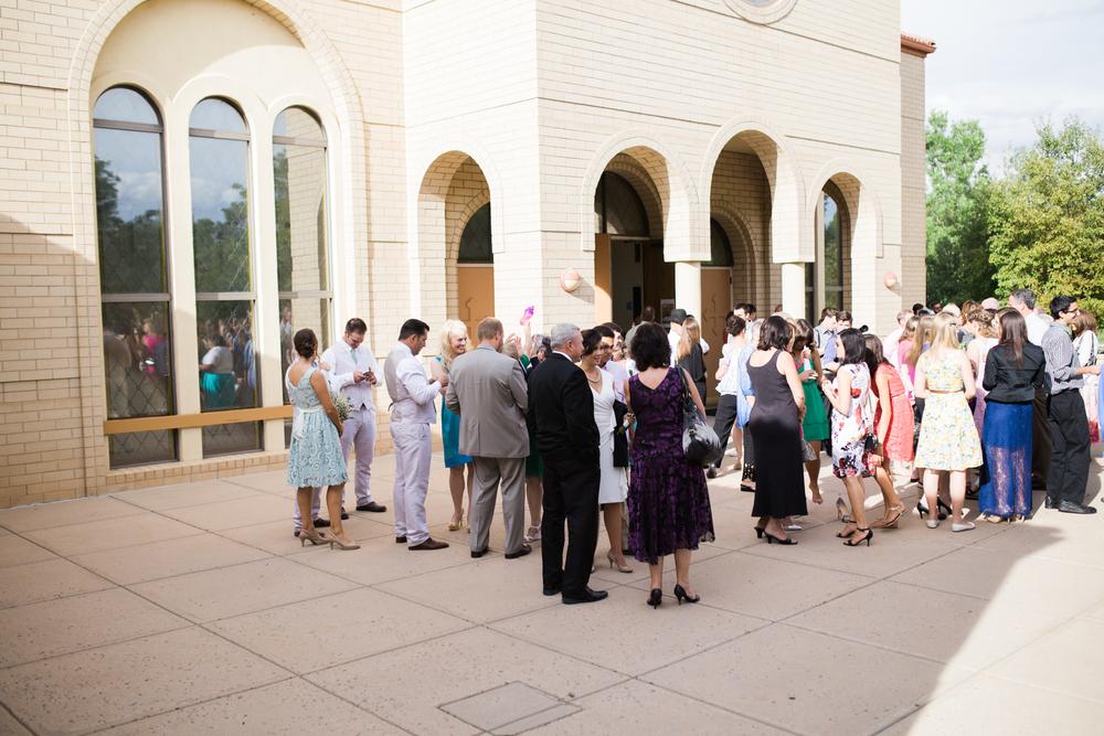 Colorado St Catherine's Church Wedding