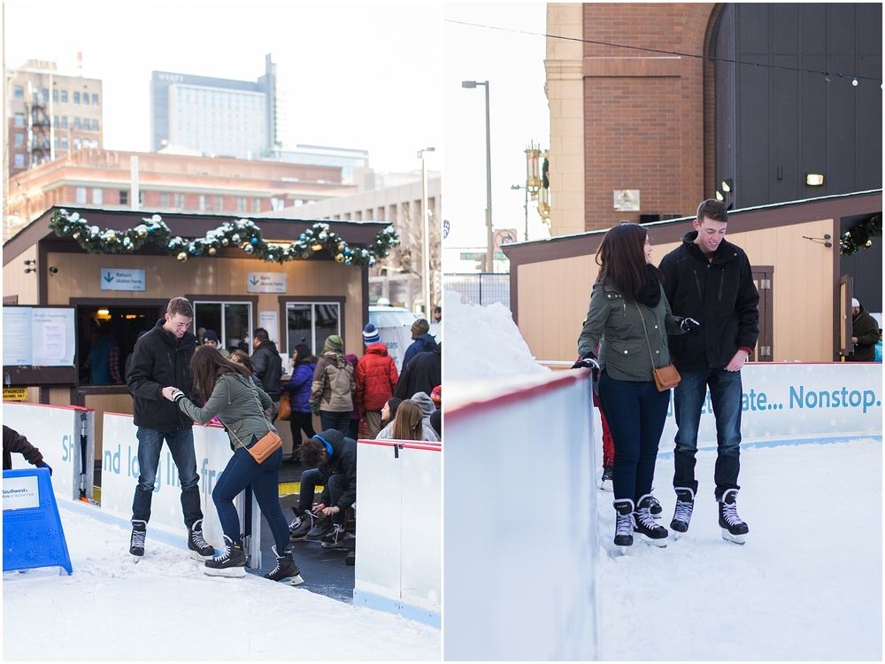 downtown denver wedding proposal