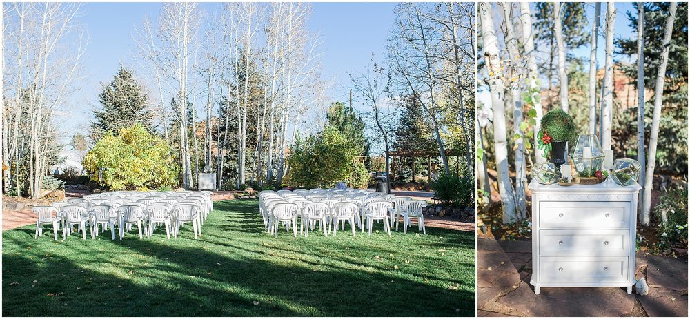 Church Ranch Event Center Fall Wedding