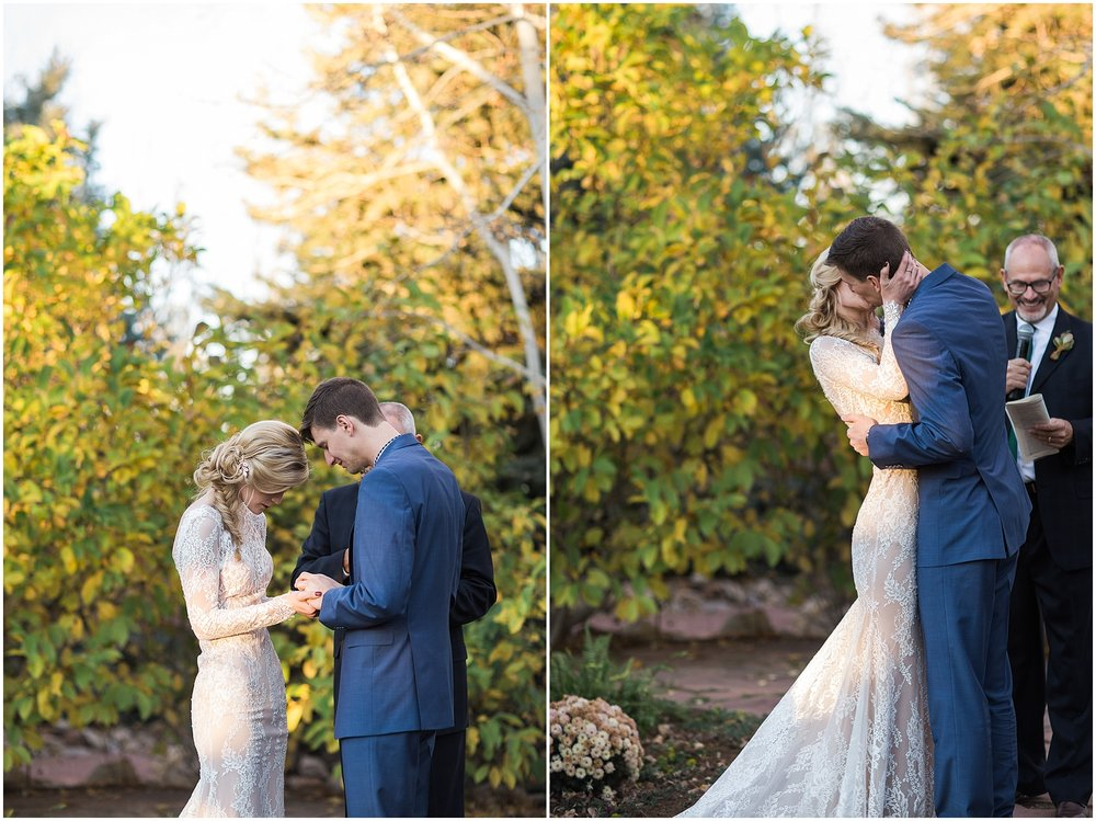 October Colorado Wedding