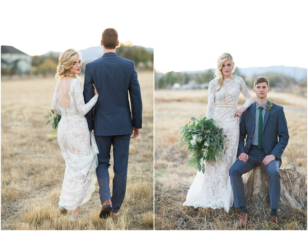 Colorado outdoor adventure wedding