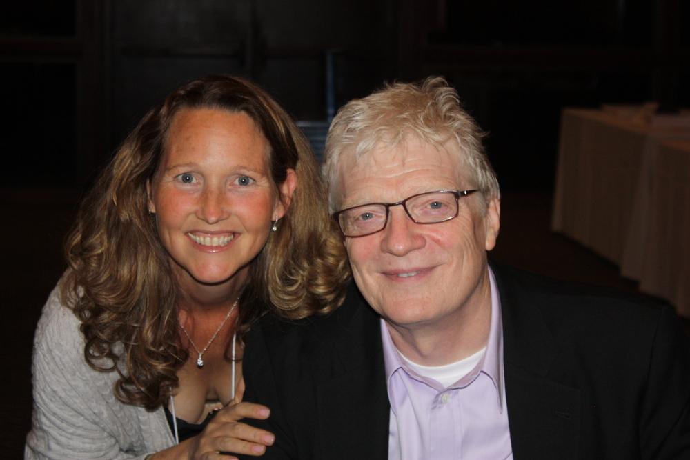 Tina-Marie Meyer & Sir Ken Robinson