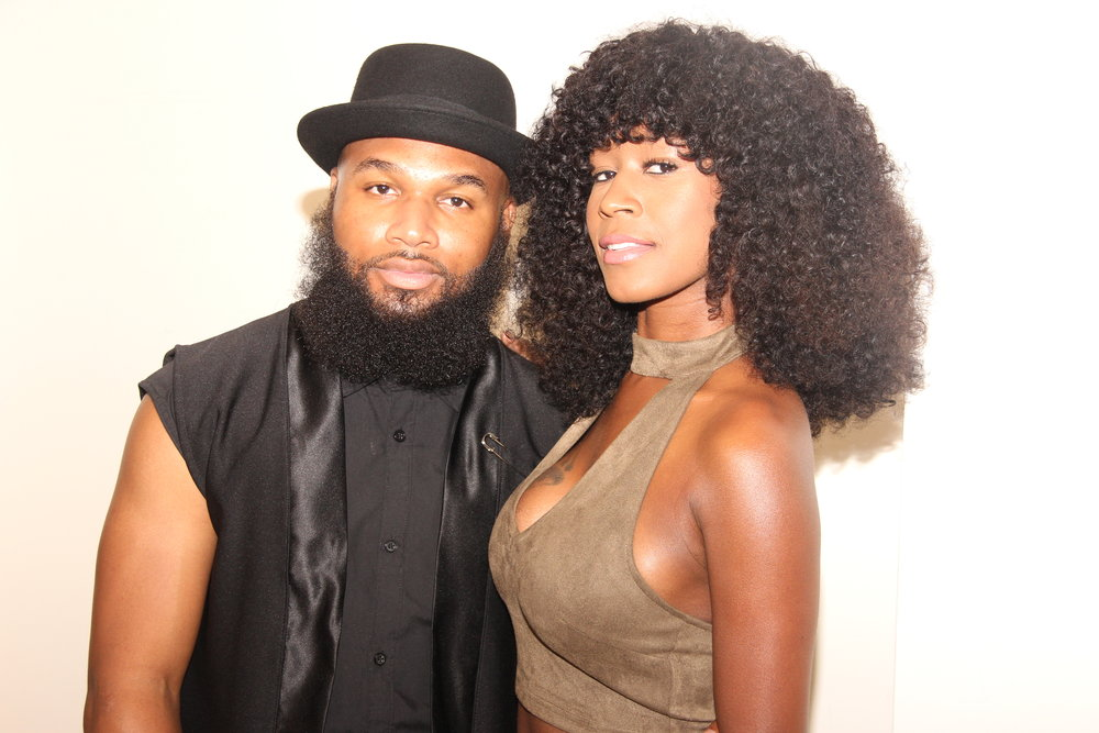 Publicist Sherod Lewis of Heir PR and Celebrity Hairstylist Tiffany Lamb