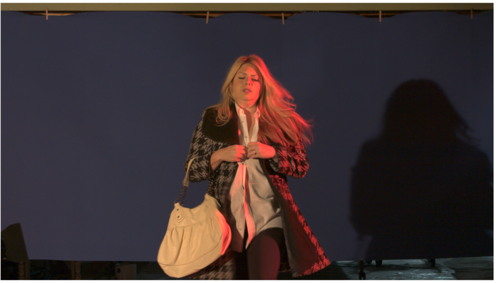 Scene 2 from   30 Second Drama   (see   Client Portfolio  ) .  The image shows the original footage.