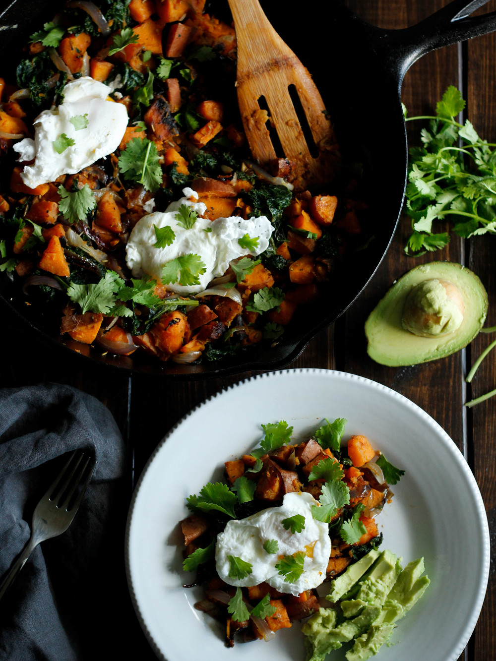 Rosemary Sweet Potato Hash | Jennifer Diaz | Healthy Dinner | Healthy Breakfast | Avocado | Wellness | Easy Recipe | Healthy Recipe