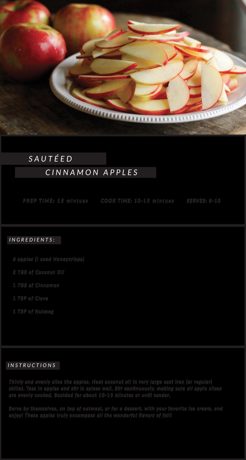 Sautéed Cinnamon Apples