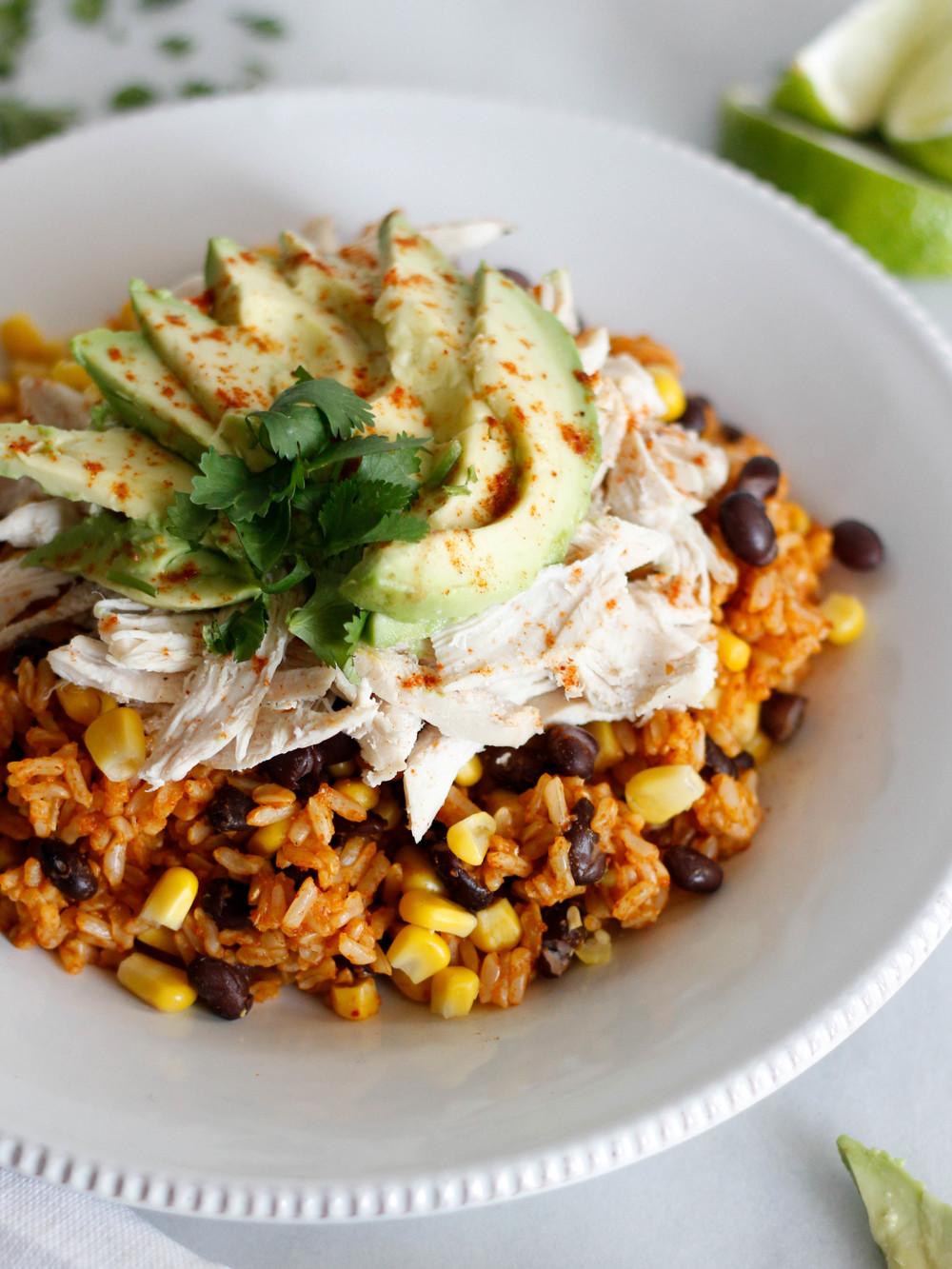 Persian Lime Chicken & Brown Rice   Jennifer Diaz