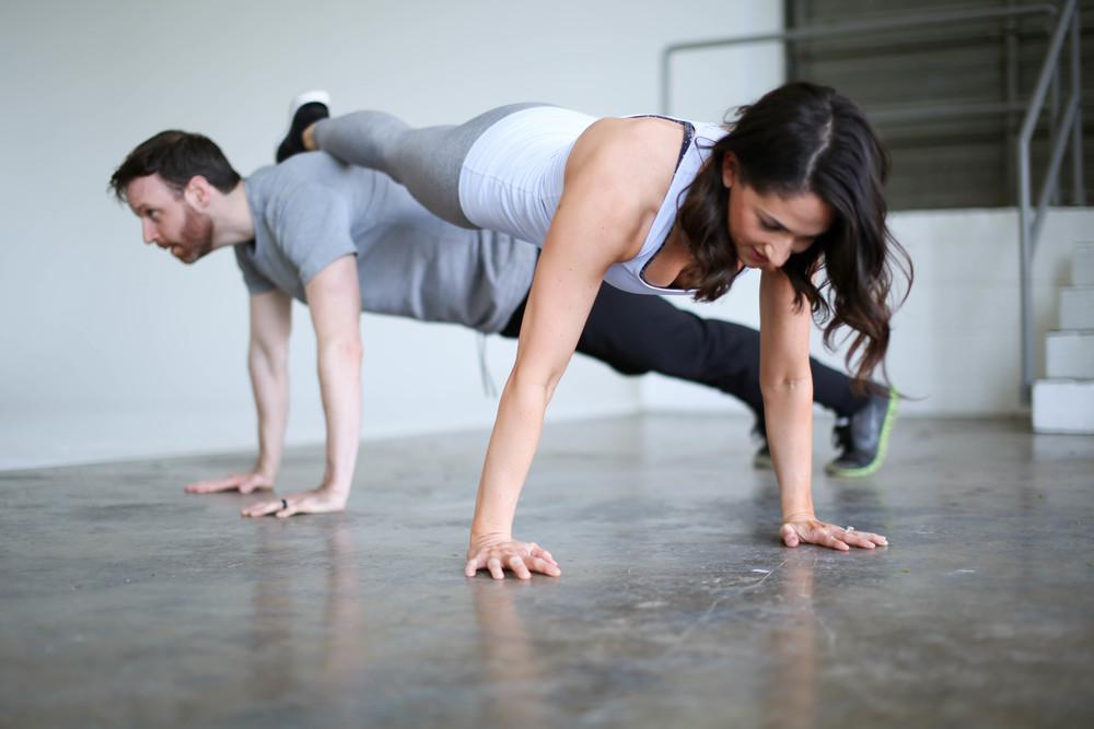 Valentine's Partner Workout | Jennifer Diaz