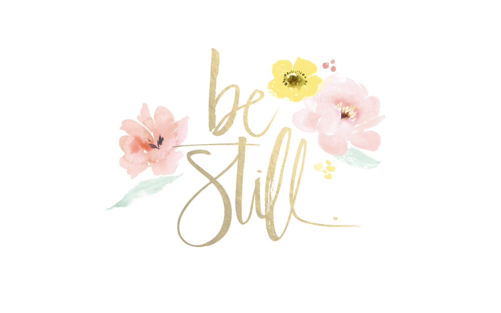 Monthly Mantra: Be Still | Jennifer Diaz | Illustration by  Julie Song  via  Design Love Fest