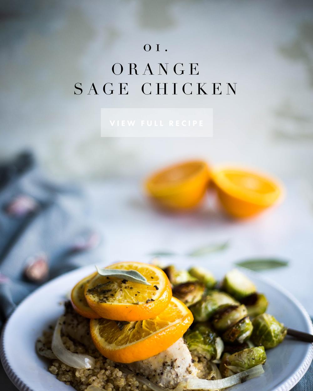 ©2016JenniferDiaz with Amy May Paper I Orange Sage Chicken