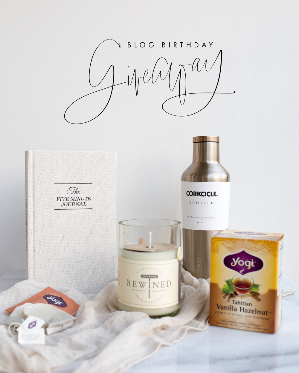Blog Birthday Giveaway | Jennifer Diaz | Hand Lettering by Amy May Paper