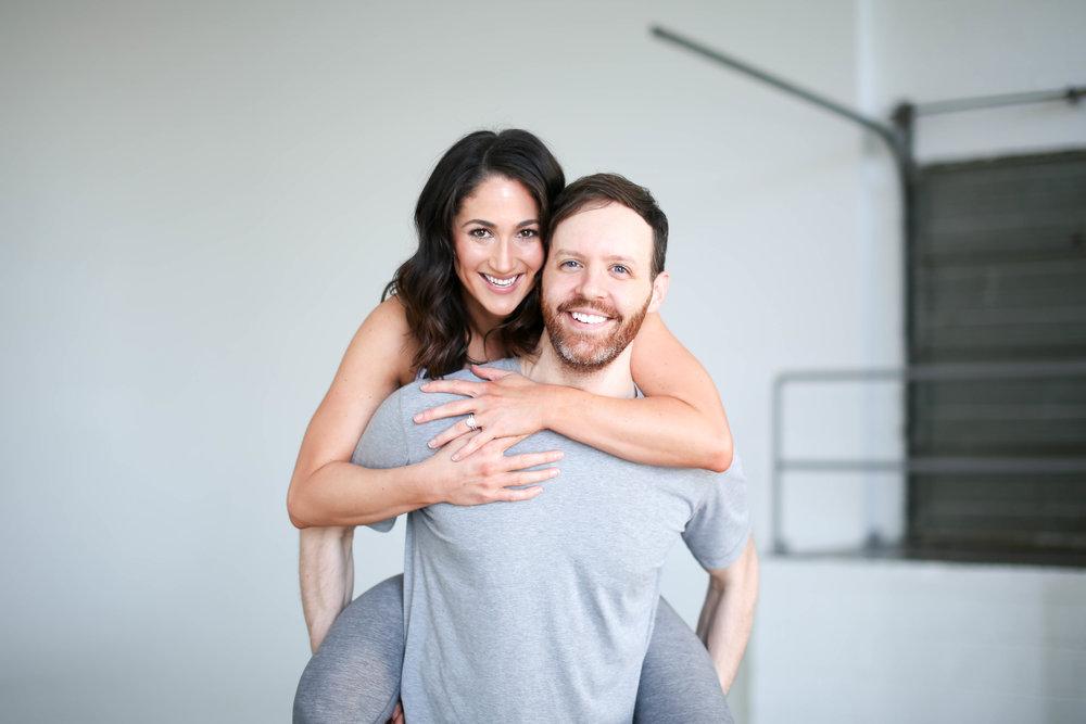 Valentine's Partner Workout | Jennifer Diaz | Photo by  Kelsey Cherry