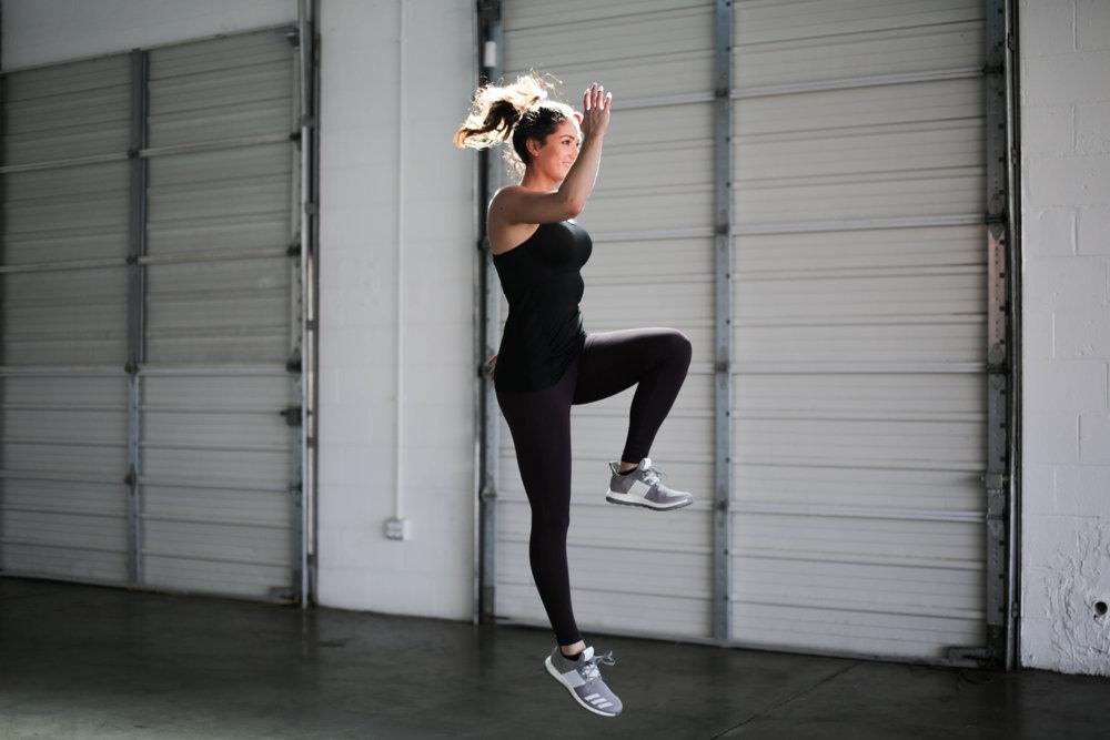 Bodyweight Cardio Workout | Jennifer Diaz