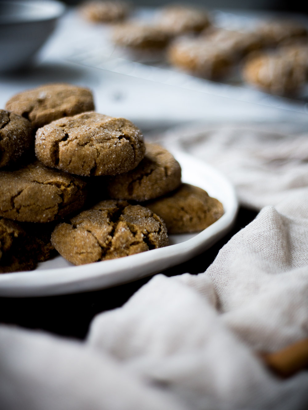 Gluten-Free Ginger Spice Cookies | Jennifer Diaz | Healthy Dessert | Holiday Recipe