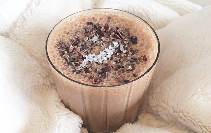 10 Healthy & Quick Options for Breakfast | Jennifer Diaz | Dark Chocolate Sea Salt by Be Well By Kelly