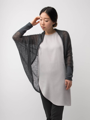 SHIBUI VOLUTE SHRUG