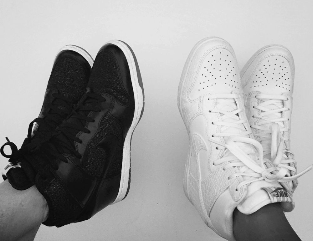 Besties Nike Sky Hi Dunks