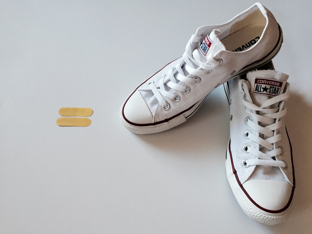 how to make white converse clean