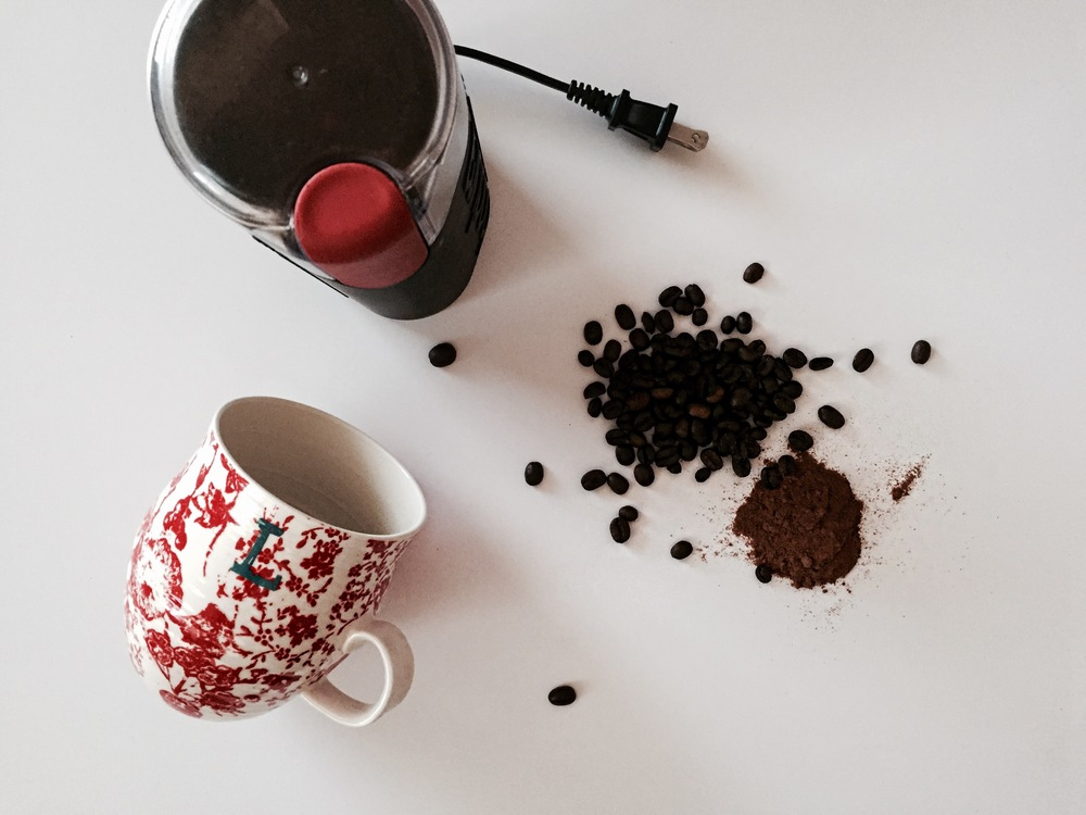 cinnamon coffee | anthropologie mug | Oil & Grain