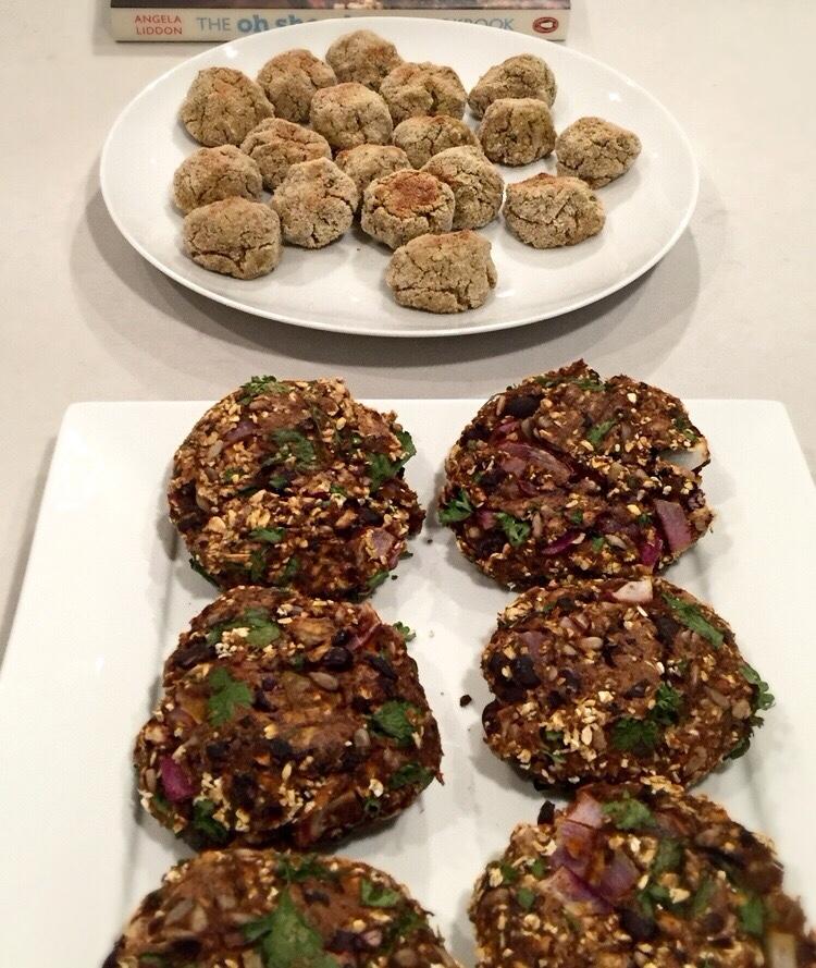 oil and grain - falafel/veggie